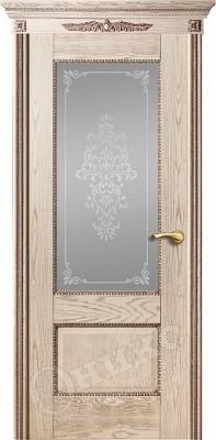 Межкомнатная дверь Оникс Александрия-2 стекло