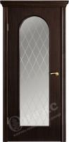 Межкомнатная дверь Оникс Арка-2 стекло