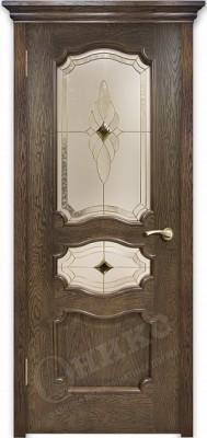 Межкомнатная дверь Оникс Барселона стекло