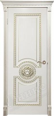 Межкомнатная дверь Оникс Цезарь с фрезой