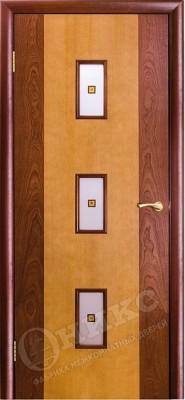 Межкомнатная дверь Оникс Комби стекло