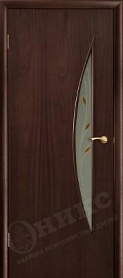 Межкомнатная дверь Оникс Луна стекло