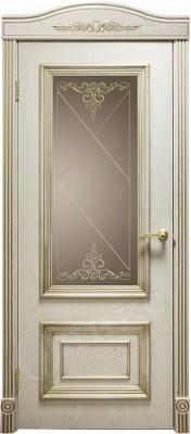 Межкомнатная дверь Оникс Мадрид стекло