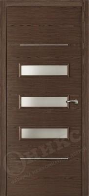 Межкомнатная дверь Оникс Трио стекло
