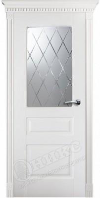 Межкомнатная дверь Оникс Версаль Фреза стекло