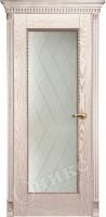 Межкомнатная дверь Оникс Александрия стекло